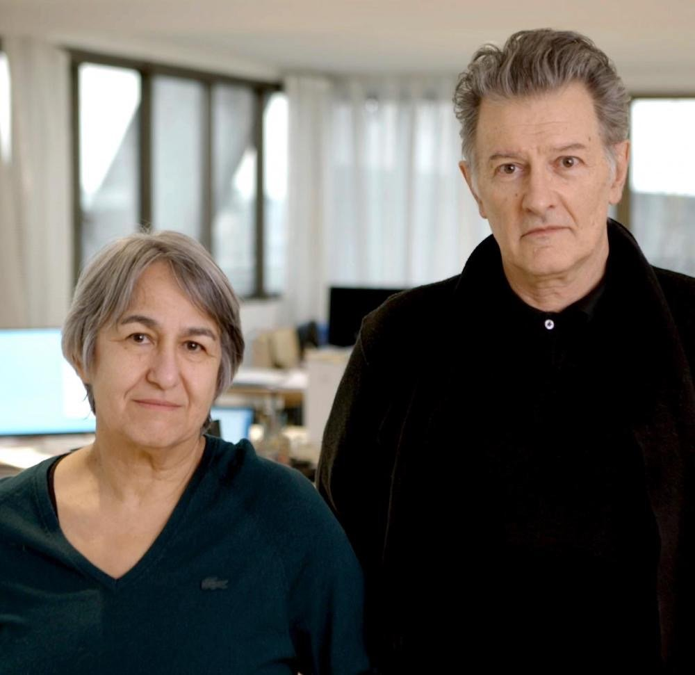 Anne Lacaton and Jean-Philippe Vassal - Photo courtesy of Laurent Chalet.
