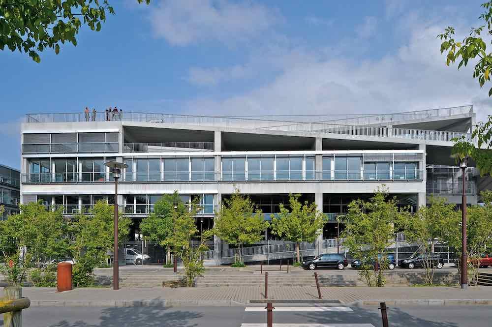 École Nationale Supérieure d'Architecture de Nantes - Photo: courtesy of Philippe Ruault.