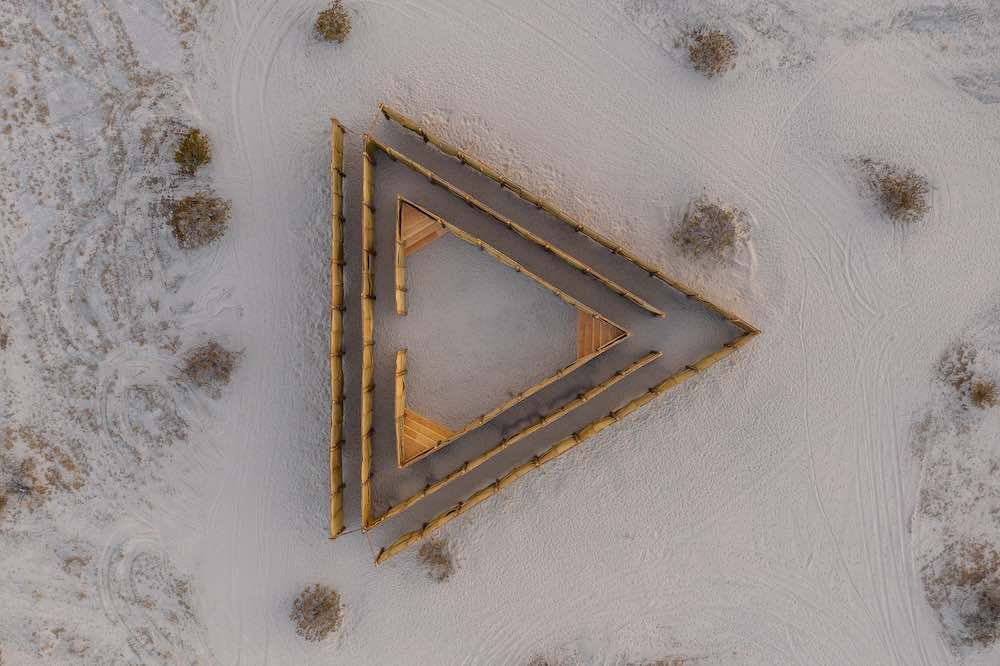 Eduardo Sarabia @ Desert X 2021 - Photo by Lance Gerber.