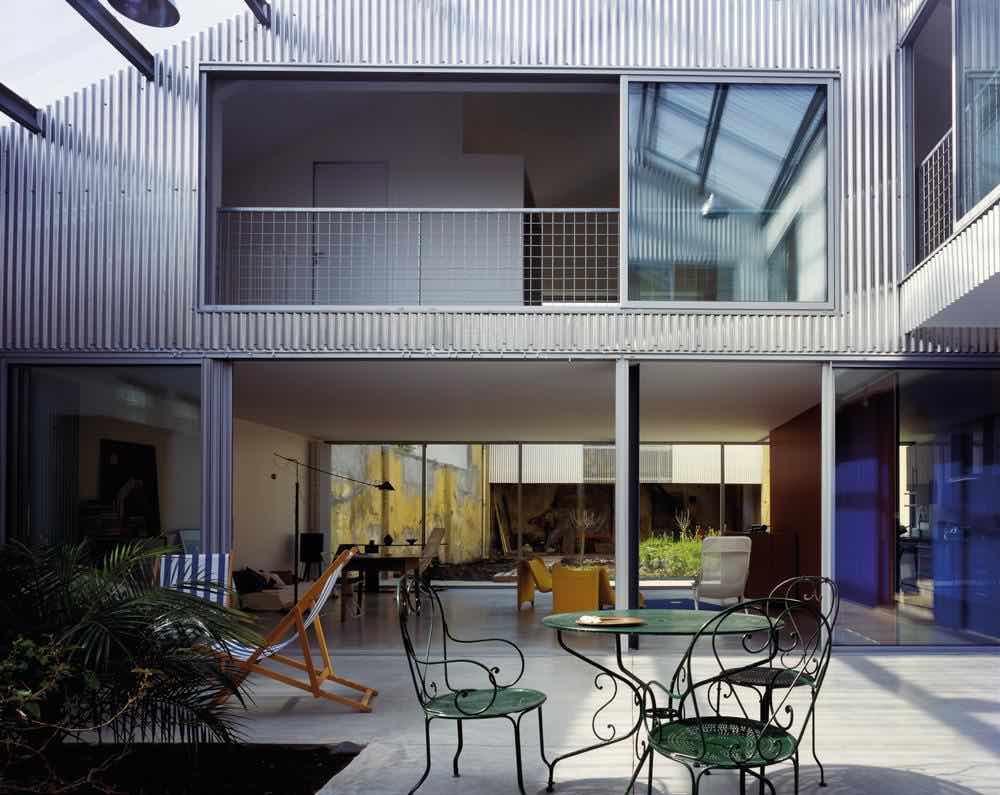 House in Bordeaux - Photo courtesy of Philippe Ruault.