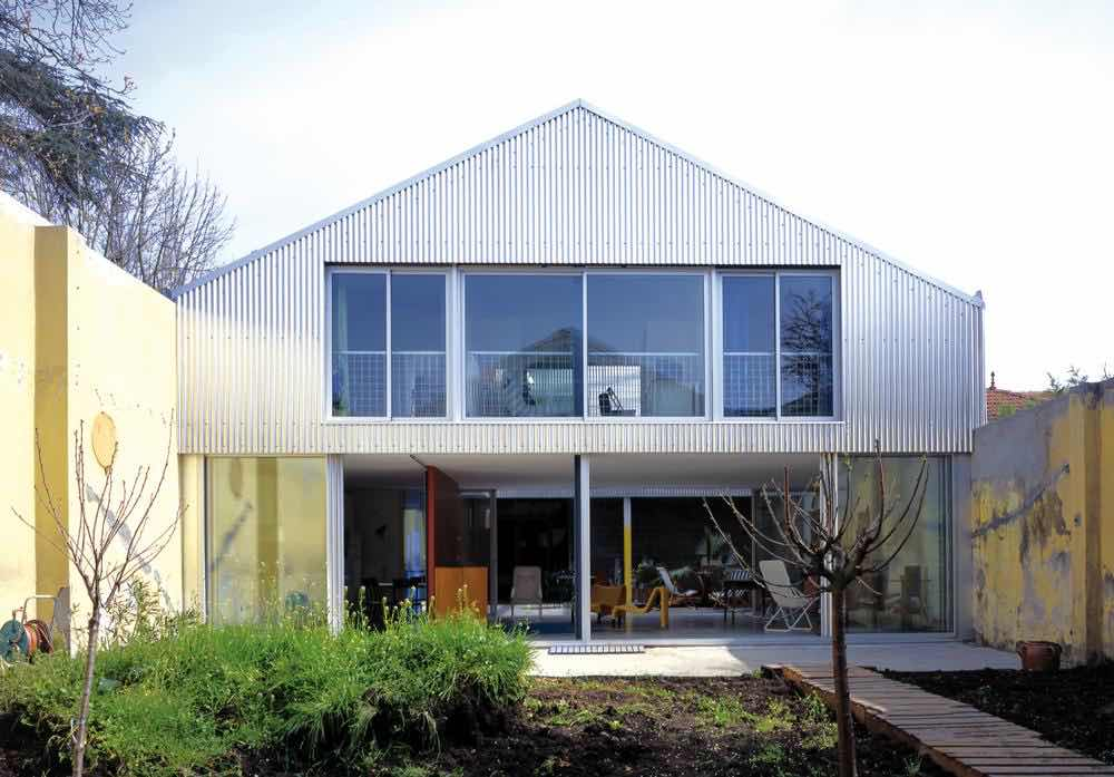 House in Bordeaux - Courtesy of Philippe Ruault.
