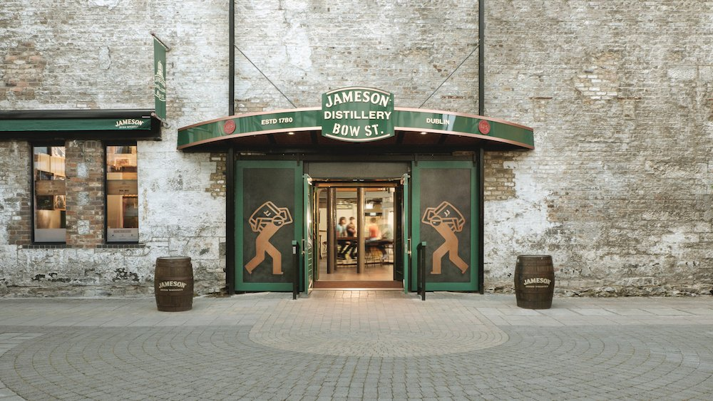 Jameson Distillery in Bow St, Dublin - Photo by Jameson Irish Whiskey.