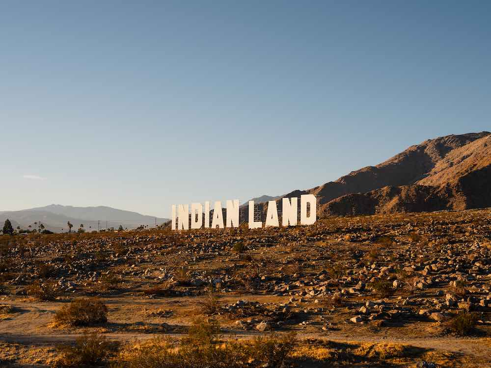 Nicholas Galanin @ Desert X 2021 - Photo by Lance Gerber.