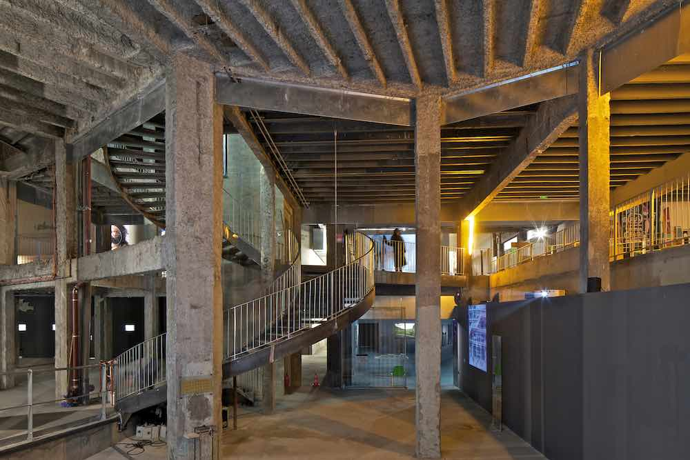 Site for Contemporary Creation, Phase 2, Palais de Tokyo - Photo courtesy of Philippe Ruault.