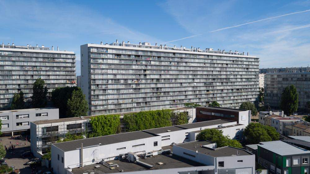 Transformation of G, H, I Buildings, Grand Parc, Social Housing with Frédéric Druot and Christophe Hutin - photo courtesy of Philippe Ruault.