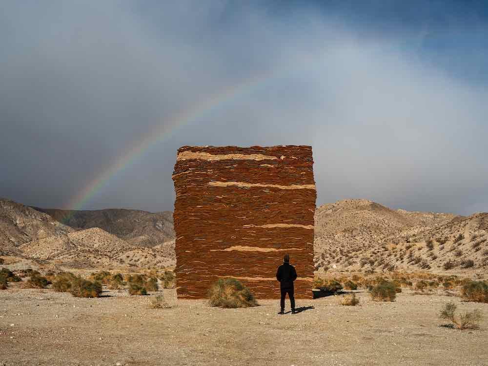 Zahrah Alghamdi Eduardo Sarabia @ Desert X 2021 - Photo by Lance Gerber.