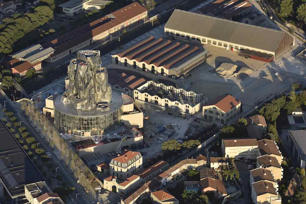 Drone view of Luma Arles campus - Photo by ©Dronimages