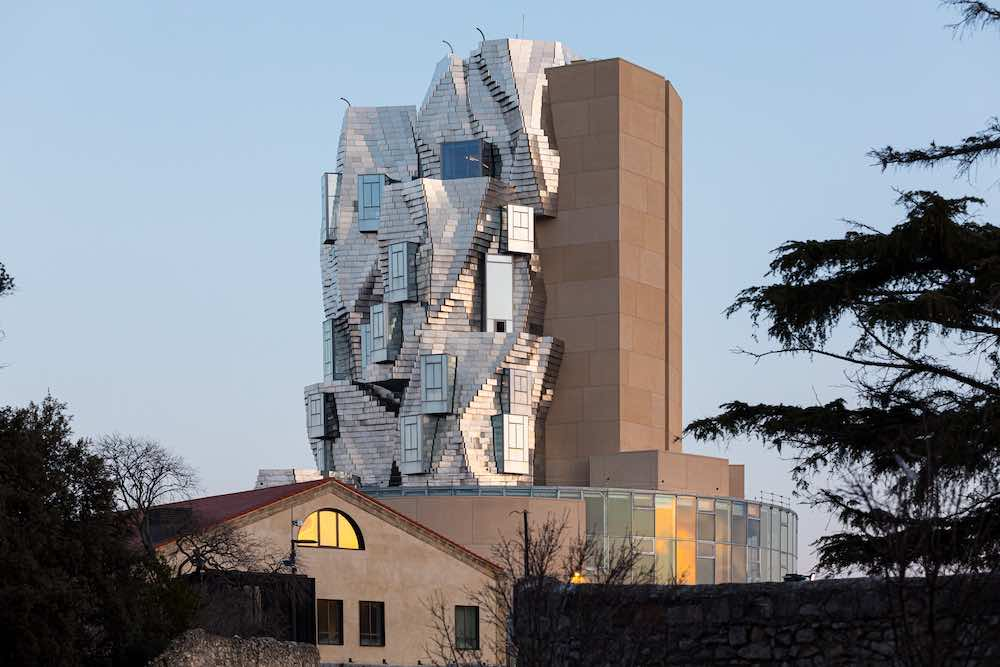 Luma Arles tower by Frank Gehry - Photo by ©Adrian Deweerdt