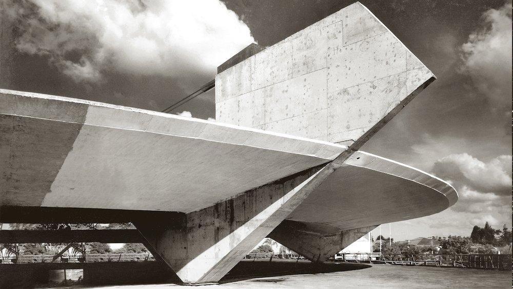 Athletic Club of São Paulo by Paulo Mendes da Rocha, 1958 - Photo by Arquivo P.M. Rocha.