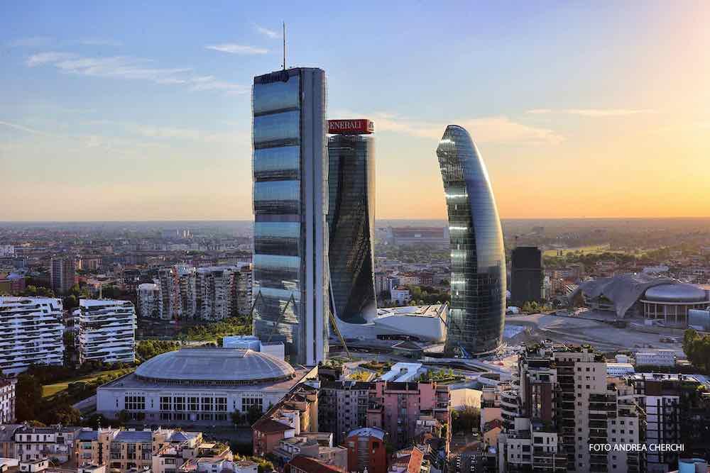 CityLife skyscrapers by Zaha Hadid, Arata Isozaki and Daniel Libeskind - Photo by Andrea Cherchi.