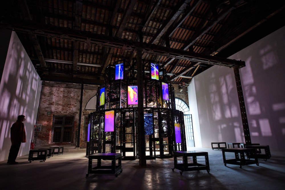 Entanglement, Irish Pavilion at Venice Biennale 2021 - Photo by Alan Butler.