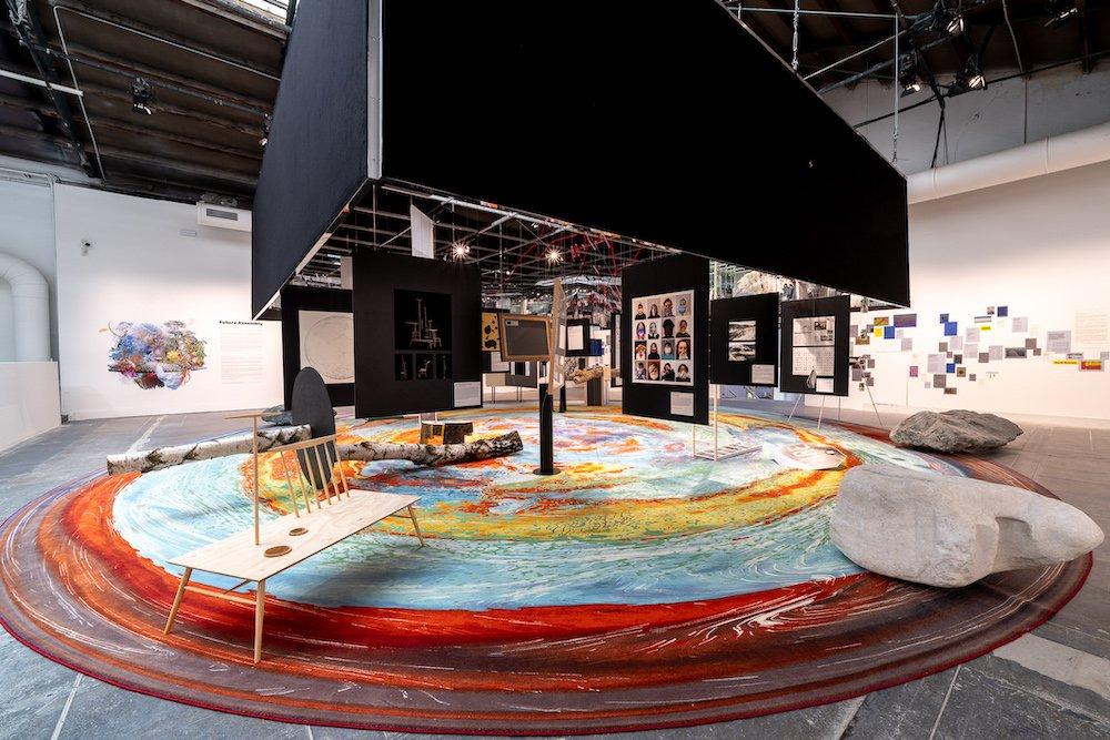 FUTURE ASSEMBY exhibition @ Venice Biennale 2021, Central Pavilion - Photo by Andrea Avezzu