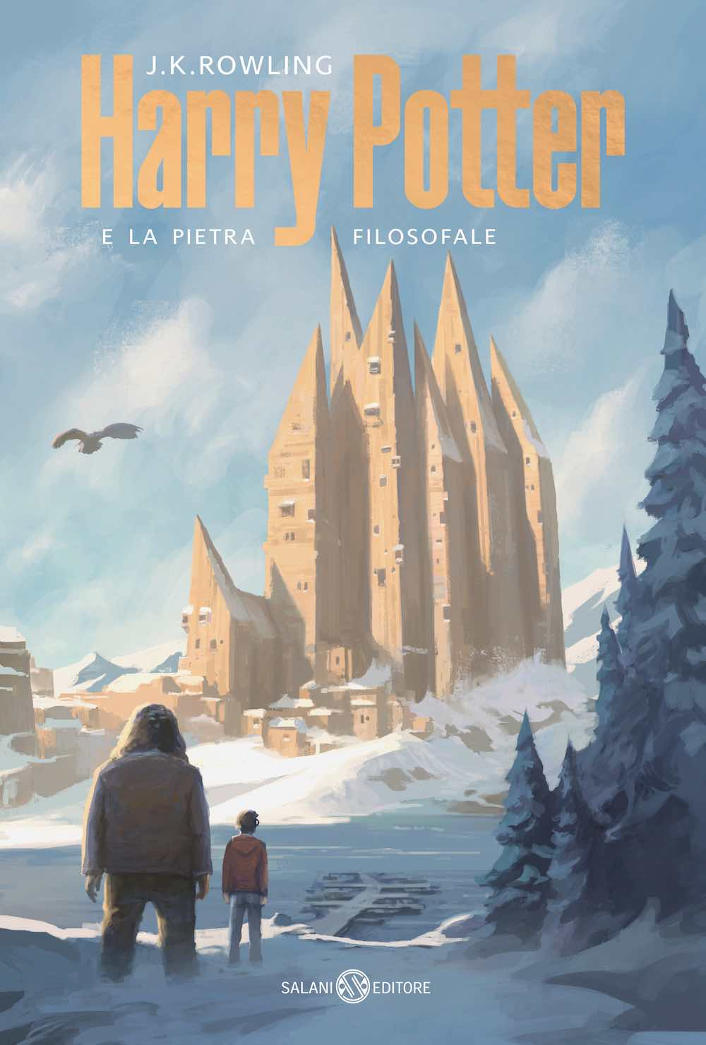 Harry Potter book cover by AMDL Circle for Salani Editore.