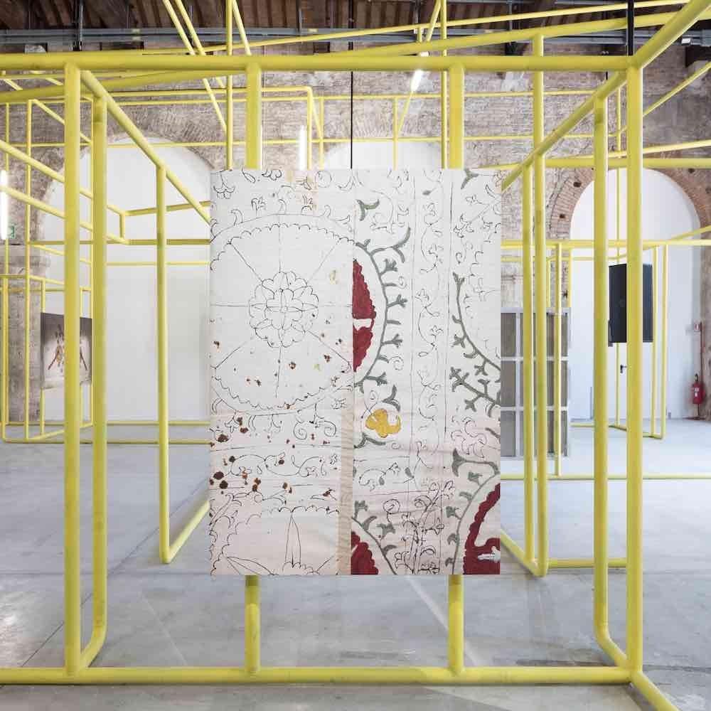 'Mahalla, Urban Rural Living' Uzbekistan Pavilion at Venice Biennale 2021 - Photo by ©Gerda Studio.