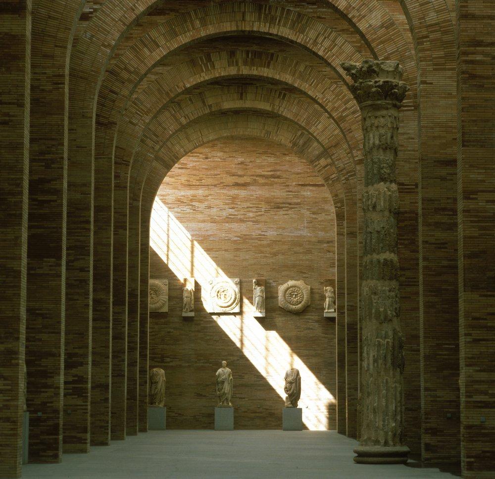 Museum of Roman Art by Rafael Moneo in Merida, 1980-86 - Photo by Luis Casals.