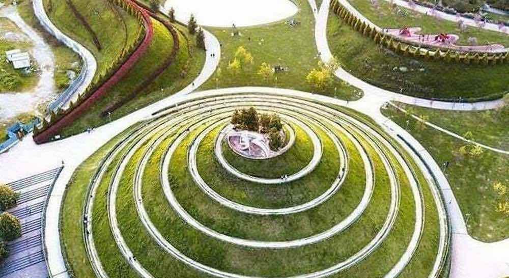 Parco Industria Alfa Romeo by Charles Jencks