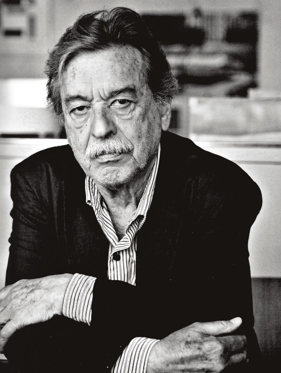 Paulo Mendes da Rocha, portrait - Photo by Arquivo P.M. Rocha.