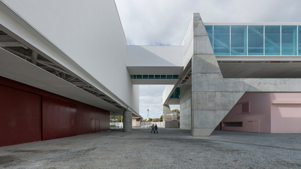 Portugal's National Coaches Museum by Paulo Mendes da Rocha in Lisbon, 2015 - Photo by Armenio Teixeira.