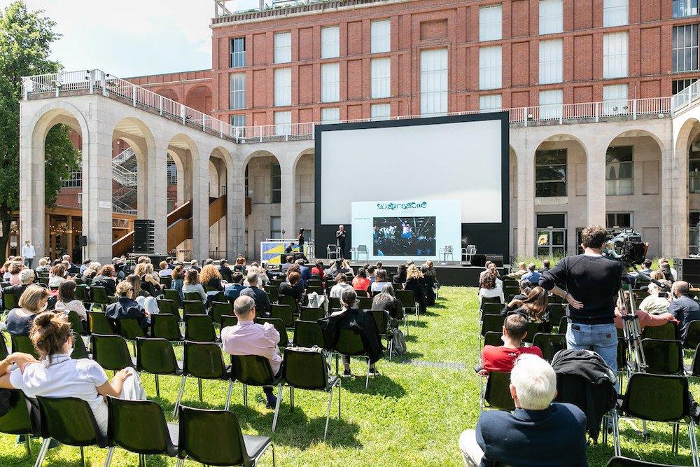 Press conference of Supersalone - Photo by Gianluca di Gioia, courtesy of Salone del Mobile.Milano and La Triennale.