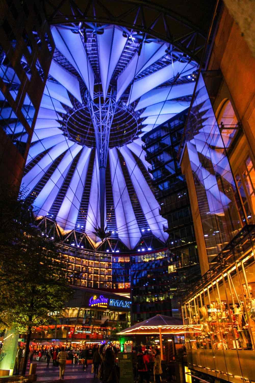 Sony Centre Berlin by Helmut Jahn, 2000 - Photo by Paul Appleton