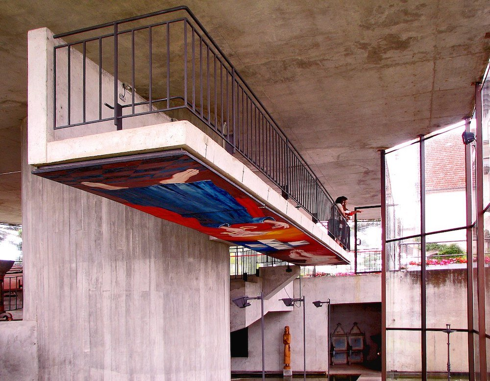St Peter's Chapel by Paulo Mendes da Rocha in Campos do Jordao, Brazil, 1987 - Photo by Gabriel de Andrade Fernandes.
