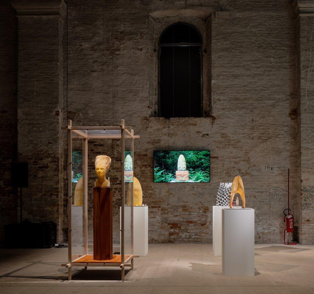 Studio Libertiny @ Venice Architecture Biennale 2021 - Photo by Andrea Avezzù.