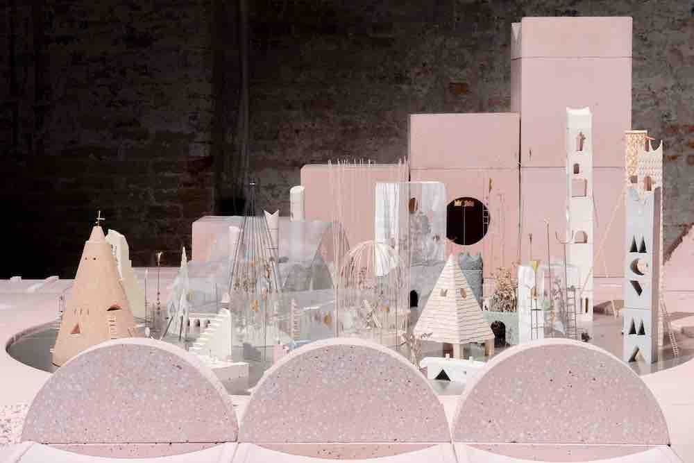 Studio Ossidiana @ Venice Architecture Biennale 2021 - Photo by Riccardo de Vecchi.