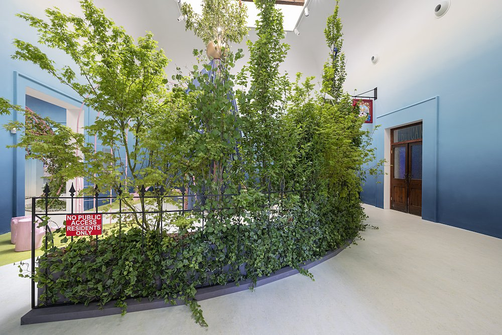 THE GARDEN OF PRIVATISED DELIGHTS, British Pavilion at Venice Biennale 2021 - Photo by Cristiano Corte 3