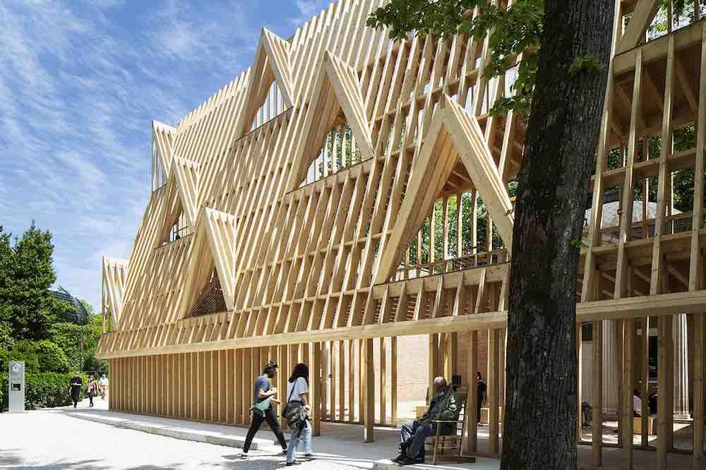 United States Pavilion @ Venice Architecture Biennale 2021 - Photo by Francesco Galli.