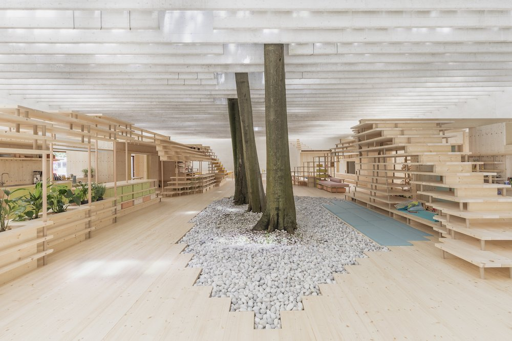 WHAT WE SHARE. Nordic Pavilion @ Venice Biennale 2021 - Photo by DSL Studio, credits National Museum of Norway.