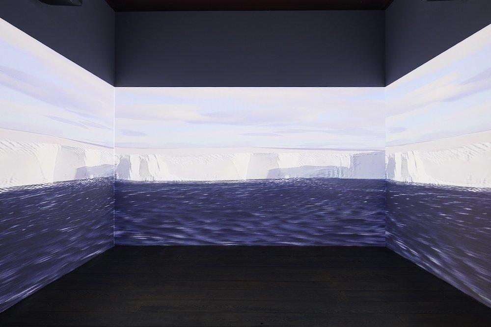 Antarctica @ London Design Biennale 2021 - Photo by Ed Reed, courtesy of London Design Biennale