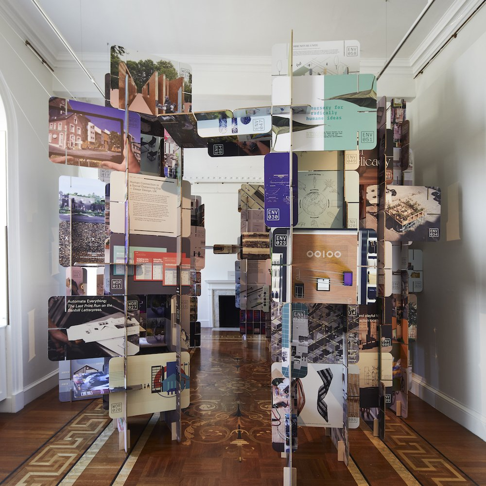 'Design in An Age Of Crisis' exhibition @ London Design Biennale 2021 - Photo by Ed Reed, courtesy of London Design Biennale