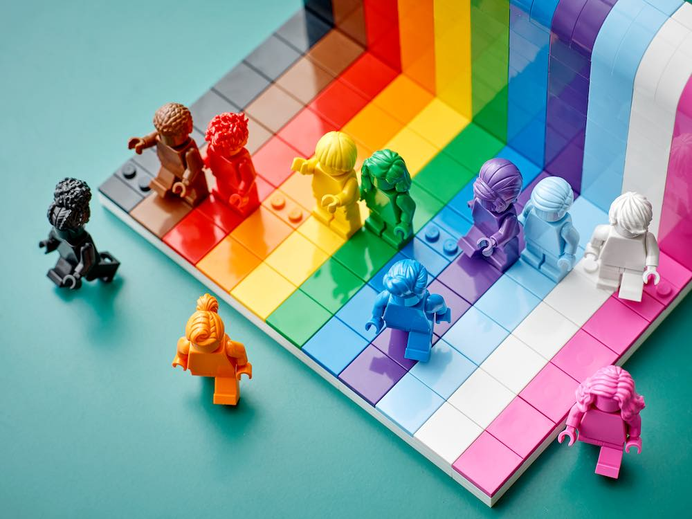 LEGO® EVERYONE IS AWESOME - Courtesy of LEGO®.
