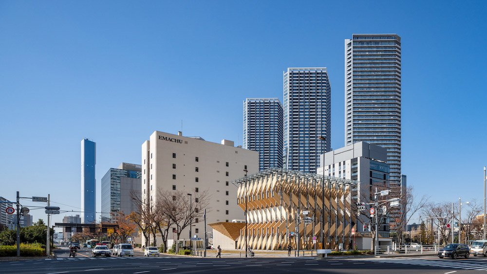 CLT Park Harumi pavilion by Kengo Kuma and Associates - ©Kawasumi・Kobayashi Kenji Photograph Office, courtesy of KKAA.