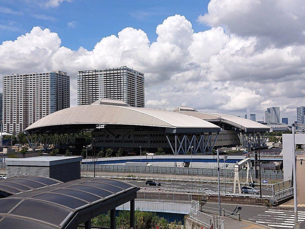 Ariake Coliseum by Takeshi Takahashi - Photo by Lombroso Wikimedia.