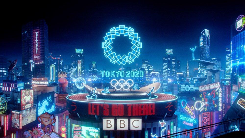 LET'S GO, BBC Olympics trail - Courtesy of Nexus Studios.