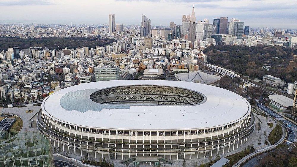 National Olympic Stadium by Kengo Kuma - Courtesy of Tokyo 2021 Olympics.