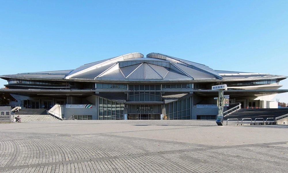 Tokyo Metropolitan Gymnasium by Fumihiko Maki - Photo by Wiiii.