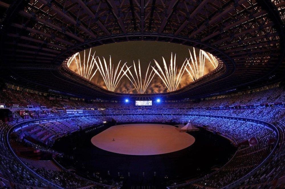 Tokyo Olympics Architecture - Photo via IG by @olympics.