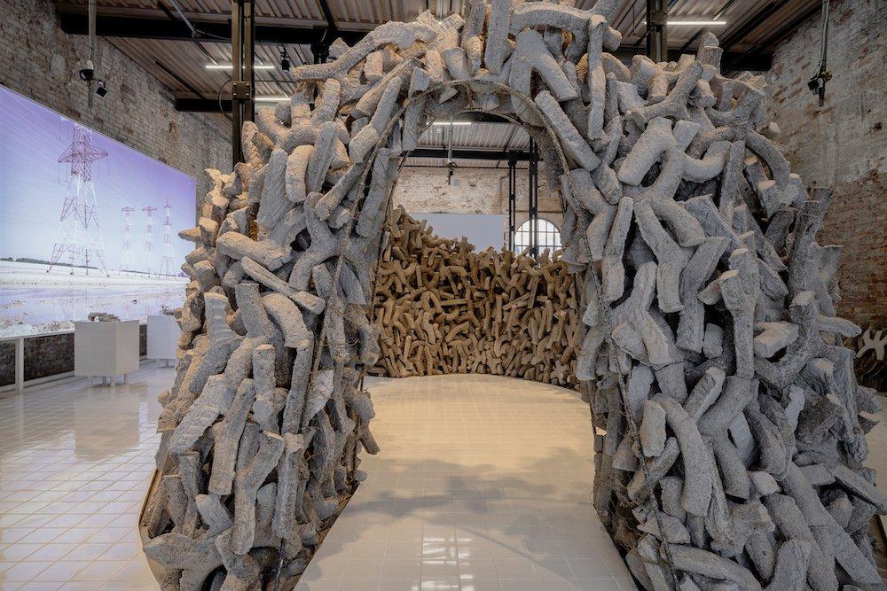 WETLANDS, UAE exhibition at Venice Biennale 2021 - Photo by Andrea Avezzù, courtesy of La Biennale 2021.
