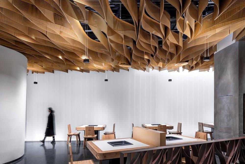 BANU restaurant by Studio Link-Ark - Photo by Qingshan Wu.