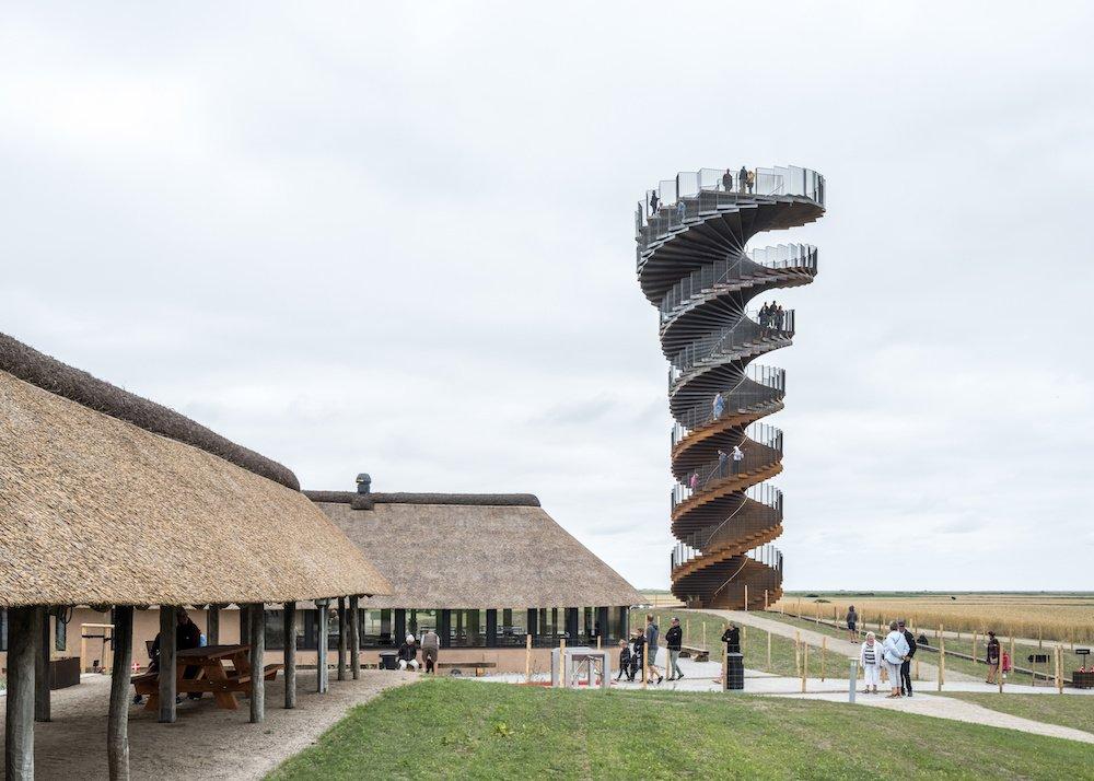 MARSK Tower by BIG Bjarke Ingels Group - Photo by Rasmus Hjortshoj, courtesy of BIG.