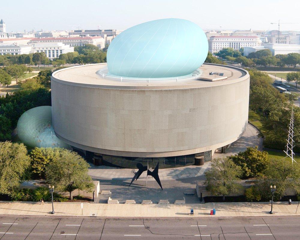 Bubble x Hirshhorn Museum and Sculpture Garden by Diller Scofidio + Renfro.