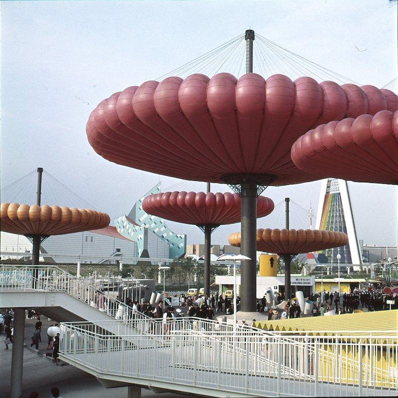 Taneo Oki et Sekkeirengo, Mushballoon, Exposition universelle d'Osaka, 1970