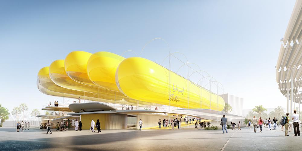 selgascano + FRPO, Spanish Pavilion, Expo Dubai 2020