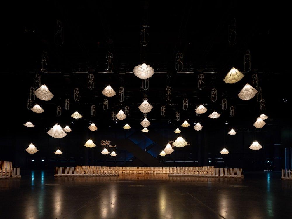 Studio DRIFT and Sou Fujimoto at Desing Miami/ Basel 2021 - ©Ossip.