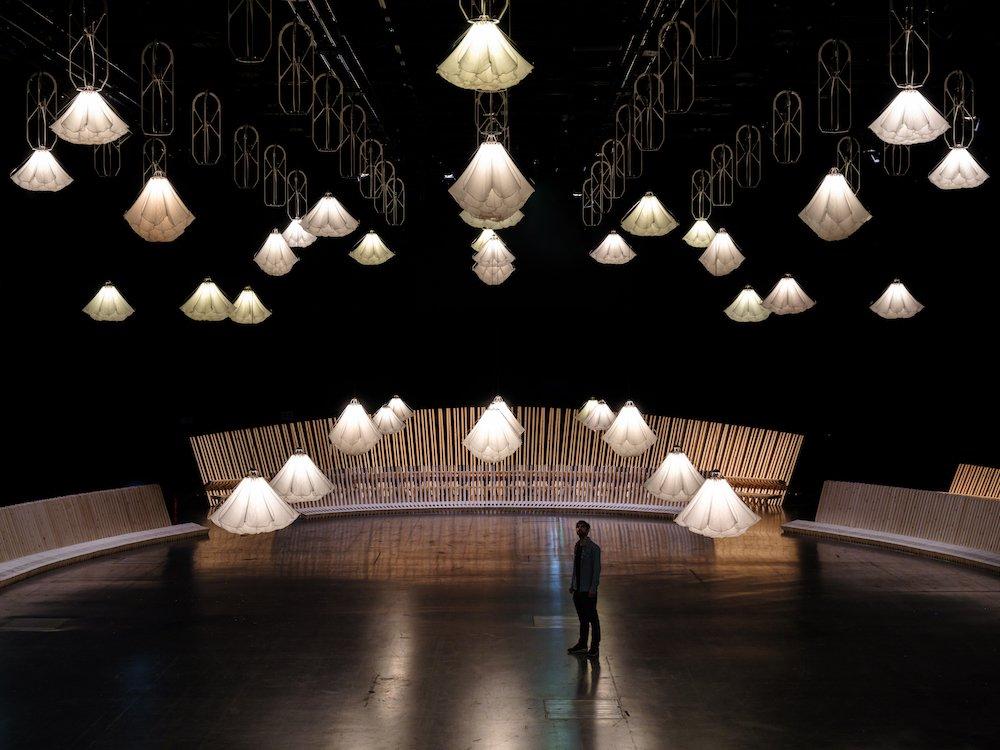 Studio DRIFT and Sou Fujimoto at Design Miami/ Basel 2021 - ©Ossip.