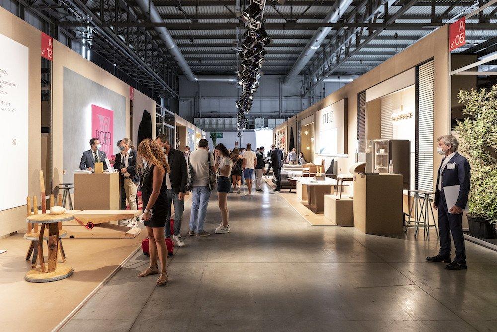 Inside Supersalone 2021 - Photo by Andrea Mariani, courtesy of Salone del Mobile.Milano.
