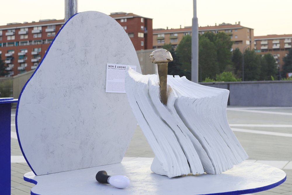Libribianchi @ the HYSTERIA exhibition - Courtesy of Alpha District.