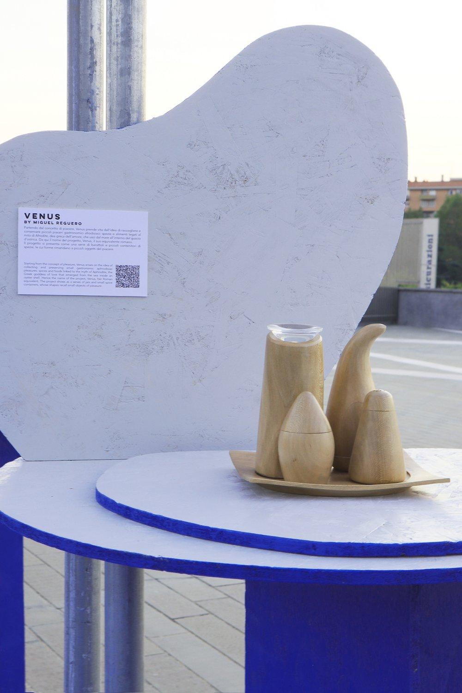 Miguel Reguero @ the HYSTERIA exhibition - Courtesy of Alpha District.